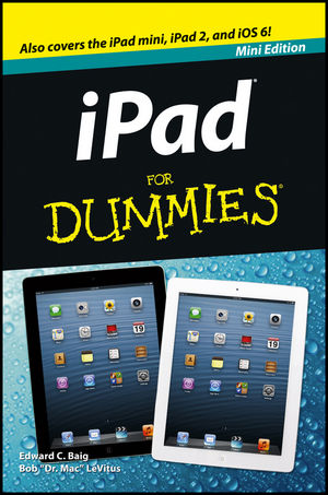 iPad For Dummies, Mini Edition (1118038002) cover image
