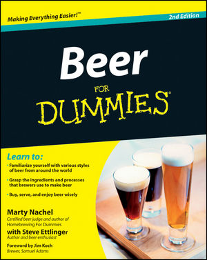 Beer For Dummies, 2nd Edition (1118120302) cover image
