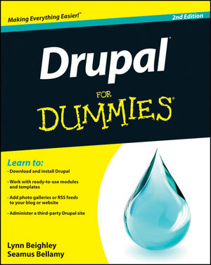Drupal For Dummies, 2nd Edition (1118147502) cover image