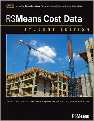 Wiley rsmeans cost data website student edition rsmeans for Website building cost