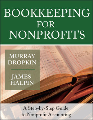 Bookkeeping for Nonprofits: A Step-by-Step Guide to Nonprofit Accounting (1118429702) cover image