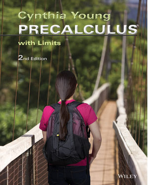 Precalculus: With Limits, 2nd Edition (1118946502) cover image