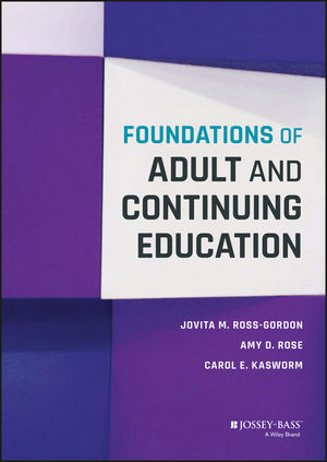 Foundations of Adult and Continuing Education (1118955102) cover image