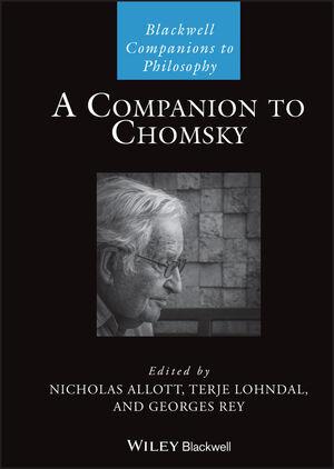 Cover of 'A Companion to Chomsky'