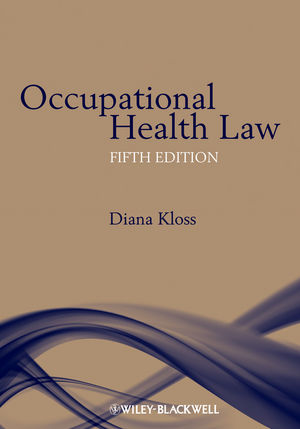 Occupational Health Law, 5th Edition (1405185902) cover image