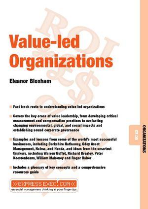 Value-Led Organizations: Organizations 07.08