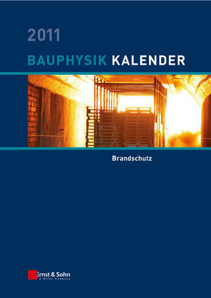 Bauphysik-Kalender 2011: Brandschutz (3433605602) cover image