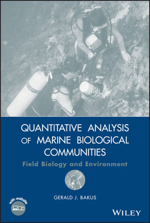 Quantitative Analysis of Marine Biological Communities: Field Biology and Environment