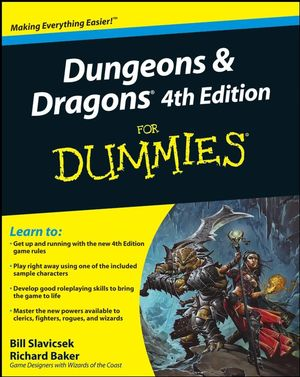 Dungeons and Dragons 4th Edition For Dummies, 2nd Edition (0470292903) cover image