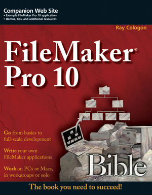 FileMaker Pro 10 Bible  (0470429003) cover image