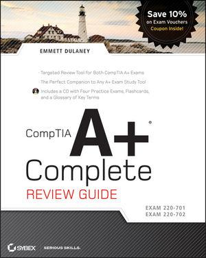 CompTIA A+ Complete Review Guide: Exam 220-701 / Exam 220-702 (0470486503) cover image
