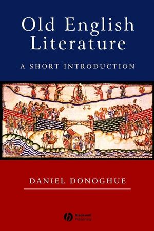 Old English Literature: A Short Introduction (0470776803) cover image