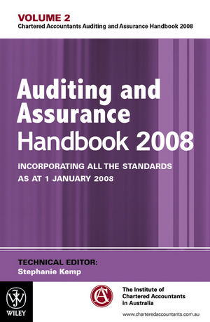 Auditing and Assurance Handbook 2008: Incorporating all the Standards as at 1 January 2008, Volume 2