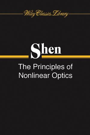 The Principles of Nonlinear Optics (0471430803) cover image
