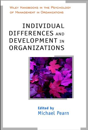 Individual Differences and Development in Organisations  (0471485403) cover image