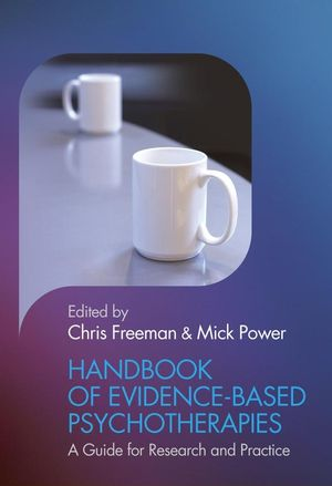 Handbook of Evidence-based Psychotherapies: A Guide for Research and Practice (0471498203) cover image