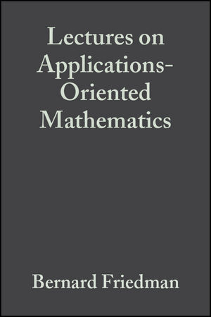 Lectures on Applications-Oriented Mathematics (0471542903) cover image
