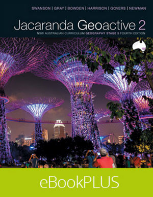 Geoactive 2 NSW Australian Curriculum Edition Stage 5 eBookPLUS (Online Purchase)