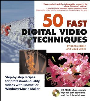 50 Fast Digital Video Techniques (0764541803) cover image
