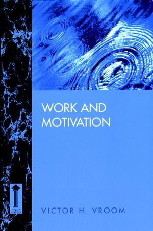 Work and Motivation (0787900303) cover image
