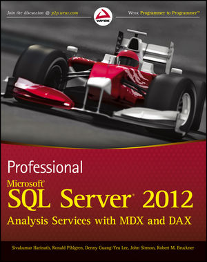 Professional Microsoft SQL Server 2012 Analysis Services with MDX and DAX (1118101103) cover image