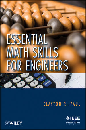 Essential Math Skills for Engineers (1118211103) cover image