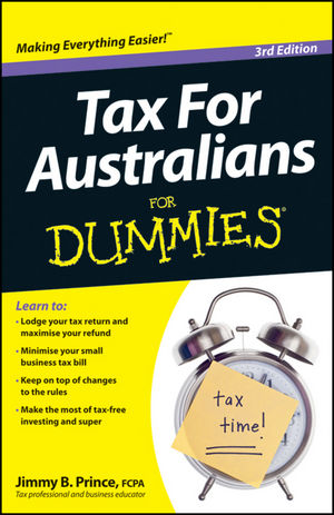 Tax for Australians For Dummies, 3rd Edition