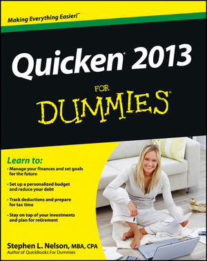 Quicken 2013 For Dummies (1118356403) cover image