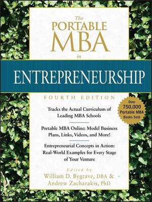 The Portable MBA in Entrepreneurship, 4th Edition (1118463803) cover image