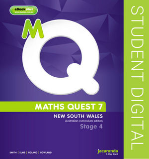 Maths Quest 7 for New South Wales Australian Curriculum Edition eBookPLUS (Online Purchase)
