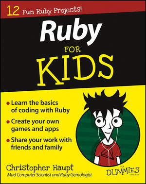 Ruby For Kids For Dummies (1119055903) cover image