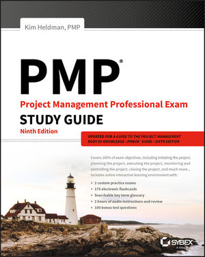 PMP: Project Management Professional Exam Study Guide, 9th Edition (1119420903) cover image