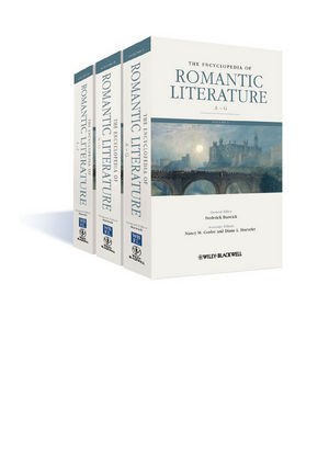 The Encyclopedia of Romantic Literature (1405188103) cover image