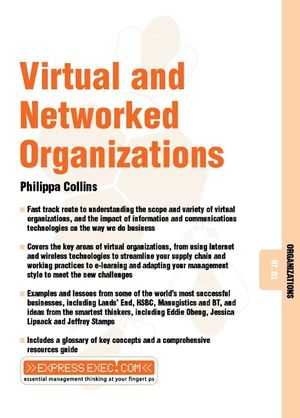 Virtual and Networked Organizations: Organizations 07.03