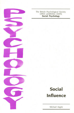 Social Influence (1854332503) cover image