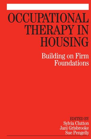 Occupational Therapy in Housing: Building on Firm Foundations (1861565003) cover image