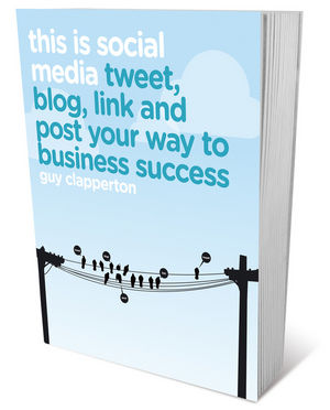 This is Social Media: Tweet, blog, link and post your way to business success (1906465703) cover image