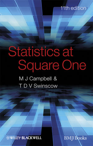 Statistics at Square One, 11th Edition (EHEP003103) cover image
