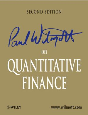 Paul Wilmott on Quantitative Finance, 3 Volume Set, 2nd Edition (0470018704) cover image