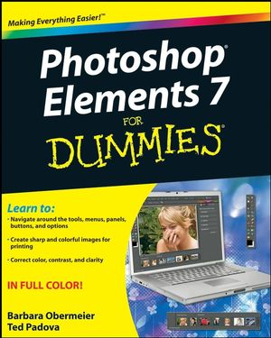 Photoshop Elements 7 For Dummies (0470397004) cover image