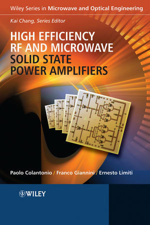 High Efficiency RF and Microwave Solid State Power Amplifiers (0470513004) cover image