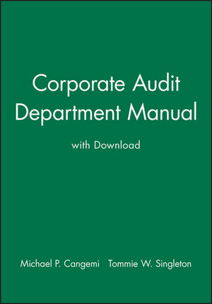 Corporate Audit Department Manual with Download