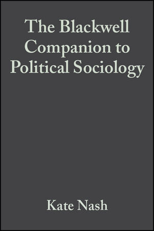 The Blackwell Companion to Political Sociology (0631210504) cover image