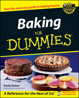 Baking For Dummies (0764554204) cover image