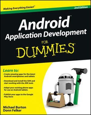 Android Application Development For Dummies, 2nd Edition (1118387104) cover image