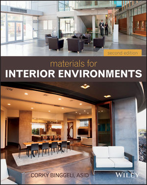 Materials for Interior Environments, 2nd Edition (1118421604) cover image