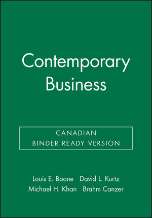 Contemporary Business, Canadian Binder Ready Version