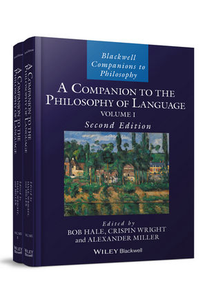 A Companion to the Philosophy of Language, 2nd Edition (1118972104) cover image