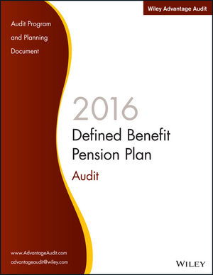 Wiley Advantage Audit 2016 - Defined Benefit Pension Plan