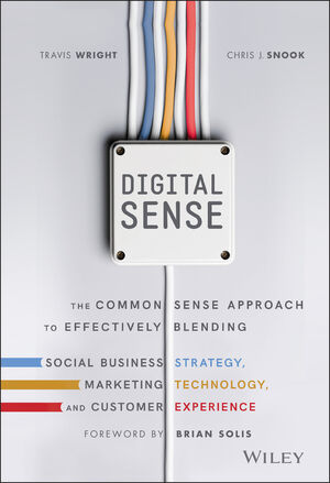Digital Sense: The Common Sense Approach to Effectively Blending Social Business Strategy, Marketing Technology, and Customer Experience (1119291704) cover image